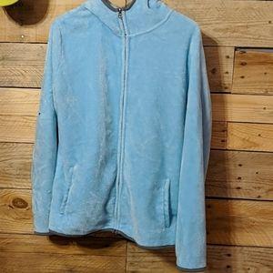 A zip up jacket